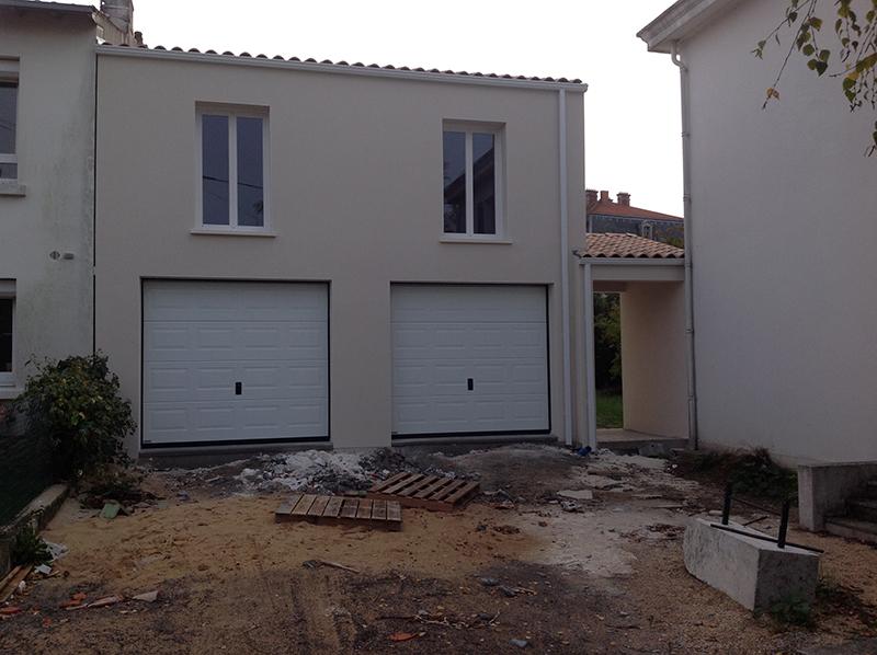 Création d'un appartement avec garage double à La Rochelle